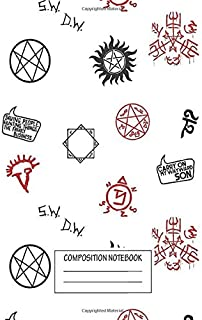 Notebook: Supernatural Sigils And Symbols , Journal for Writing, Size 6