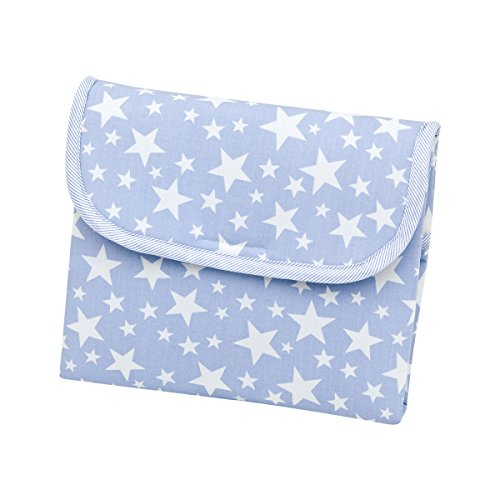 Cambrass Star - Cambiador de Viaje, Color Azul Celeste, 64 X 42 cm