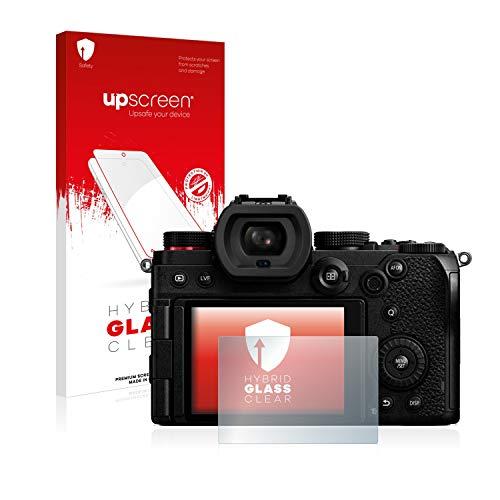 upscreen Protector Pantalla Cristal Templado Compatible con Panasonic Lumix S5 Hybrid Glass - 9H Dureza