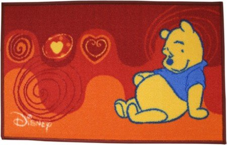 ABC Disney Winnie l'ourson Orange Rouge