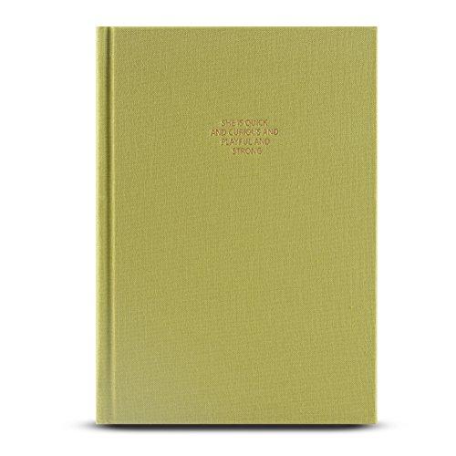 Horario de planificación de los cuadernos 2018, PENNX 2018 Premium Daily Planner Horario Organizador y diario Cuaderno con cubierta gruesa de lino, papel de escribir color crema, 10.9cm x 15.2cm