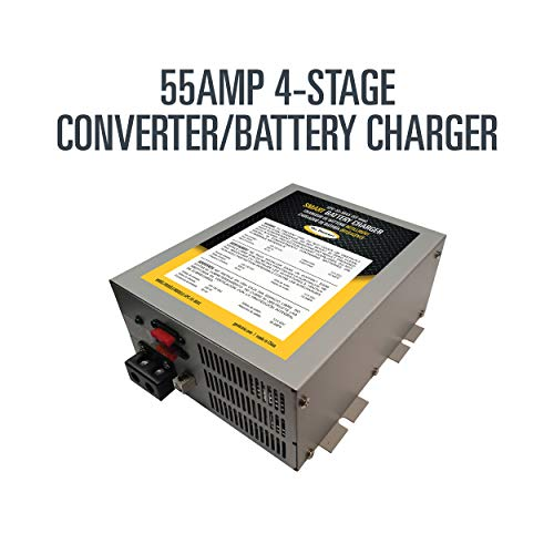 Go Power! GPC-55-MAX 55 Amp 4-Stage Converter/Battery Charger