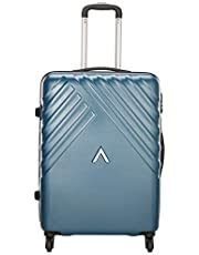 Aristocrat Polycarbonate 65 cms Blue Hardsided Check-in Luggage (Sienna)