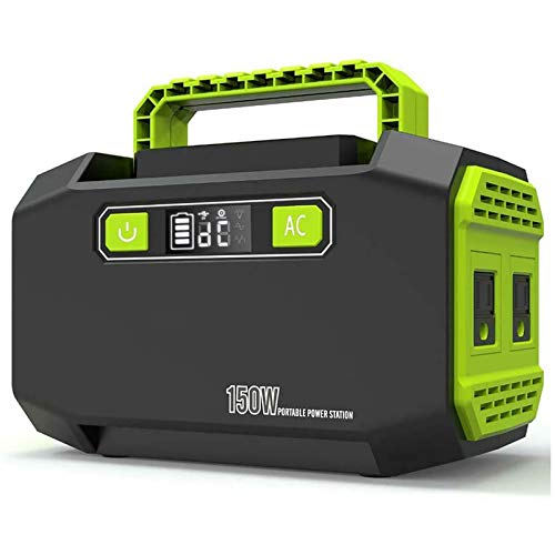 WYB Large-Capacity Mobile Power Supply, 220V Outdoor Portable Power Supply, High-Power Storage Battery 500W, Suitable for Vehicle Emergency Camping, Etc.