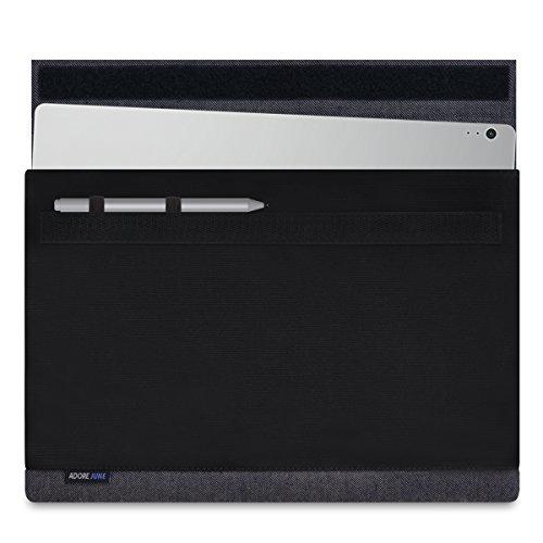 Adore June Bold 13,5 Zoll Laptop-Tasche kompatibel mit Microsoft Surface Book 2 & Surface Book (Erste Generation); Robuste Hülle aus Canvas Stoff mit Stift-Halter für den Microsoft Surface Pen