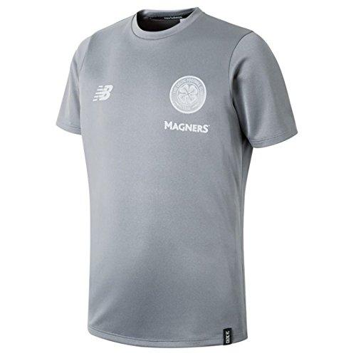 New Balance Celtic FC Junior Leisure Short Sleeve T-Shirt 2018/19