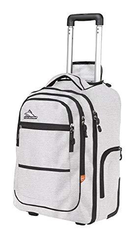 High Sierra Rev Wheeled Backpack (Jersey Knit/Slate)