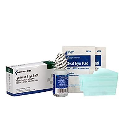 First Aid Only 7-009 5 Piece Eye Wash Kit by First Aid Only
