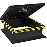 Global Industrial Galvanized Roof Access Hatch, Powder Coated, 30' L x 36' W