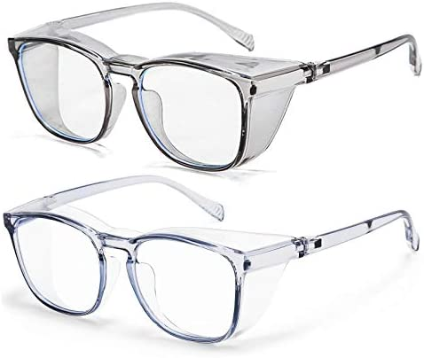 Protective Eyewear Safety Goggles Clear Anti fog Anti Scratch Safety Glasses Men Glasses Transparent product image