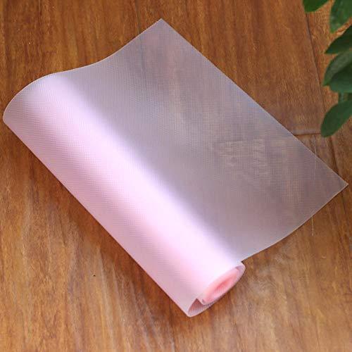 Aiyow 4 stuks antislip koelkastmatten, antibacterieel, anti-schimmel, anti-vocht, mat voor de plank van de koelkast, wasbaar en zelf te knippen.Kardemom poeder