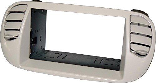 Kit installazione autoradio mascherina doppio DIN Colore mascherina: Grigio perla