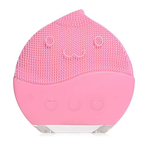 Limpiador facial de silicona, cepillo de limpieza facial, eléctrico, resistente al agua,...