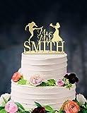Décoration de gâteau de mariage personnalisée, motif ballon de rugby américain