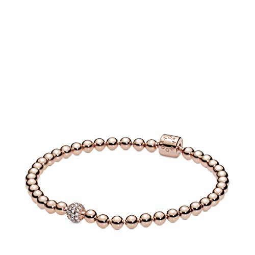 Pandora Damen-Tennisarmbänder Silber_vergoldet 588342CZ-21