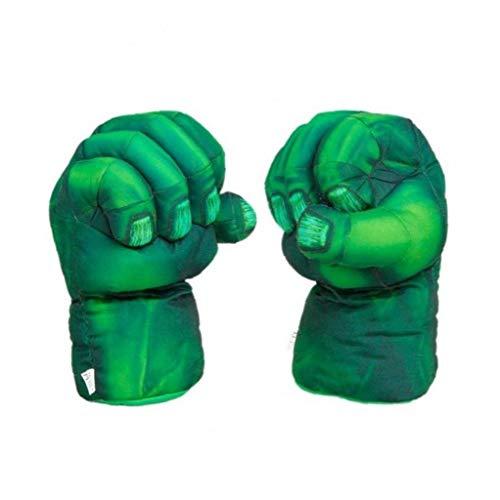 LAVALINK Guantes De Superhéroes Hulk Puño Felpa Escénicas 2pcs Escudo Partido del Niño Cosplaytoys Regalo De Los Cabritos/Pair