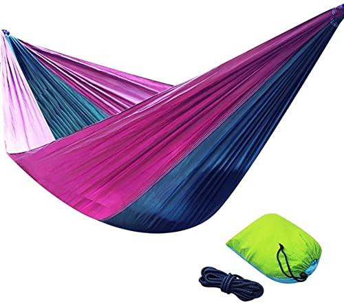 Whxl hamacas, Muebles de Camping múltiples Escenario aplicable al Aire Libre Doble portátil y cómodo Anti-Rollover Cargar 200kg cómodo