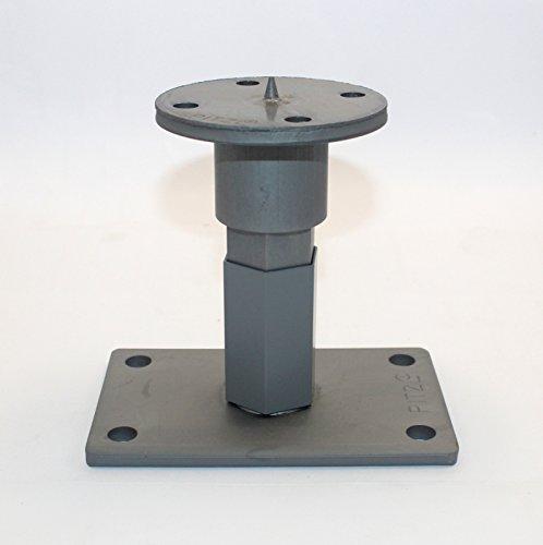 1 Stück Pitzl® Pfostenträger Typ -P-ZiNiP Stecksystem höhenverstellbar, Nutzungsklasse 3