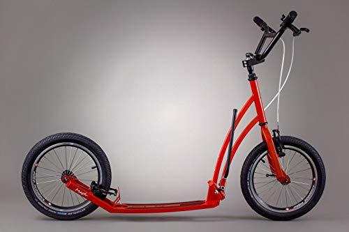 Mibo Klapp Falt Roller Mastr Red 16/16 Zoll inkl. Seitenständer