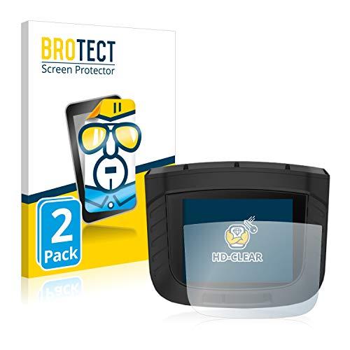 BROTECT Protector Pantalla Compatible con Garmin Xero S1 Protector Transparente (2 Unidades) Anti-Huellas