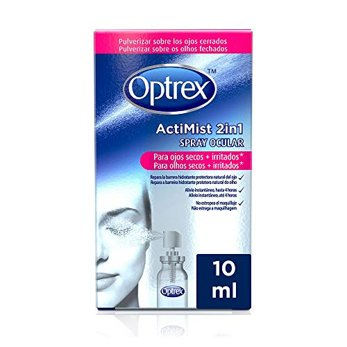 Optrex ActiMist 2in1 Spray Ocular Para Ojos Secos + Irritados