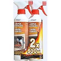 Limpiacristales antiollin 500ml.promo lote 2 uds.24512-12