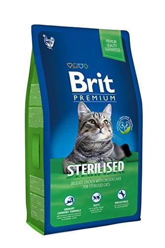 Brit Cat Sterilised, 1er Pack (1 x 8 kg)