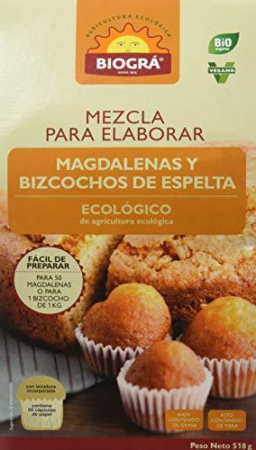 Biográ Mezcla Para Hacer Magdalenas Y Bizcocho 510G Biogr Biográ 300 g