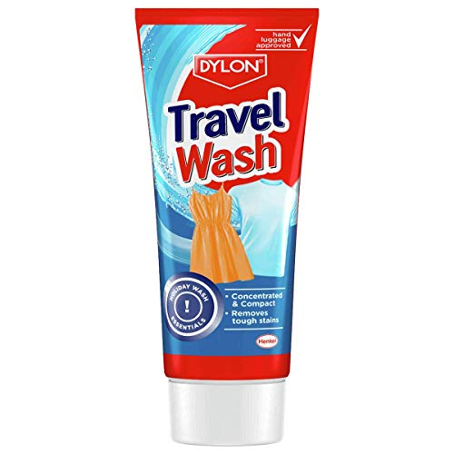 Dylon Travel Wash 75ml Concentrated and Compact. Removes Tough Stains.