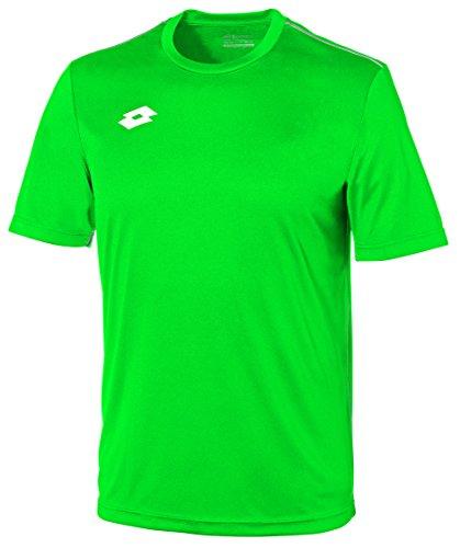 Lotto Jersey Delta Camiseta de Fútbol, Hombre, Verde (grn grs), L