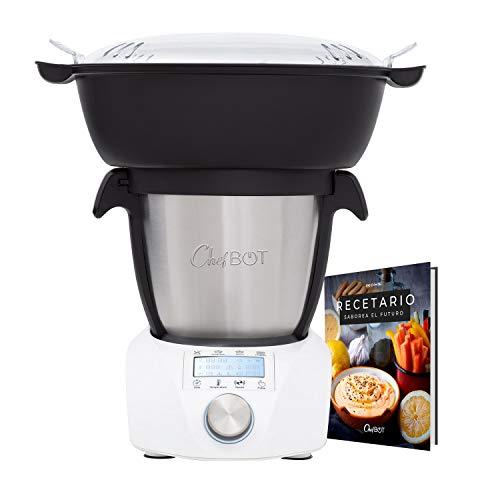 IKOHS CHEFBOT Compact STEAMPRO - Robot de Cocina Multifunción, Cocina