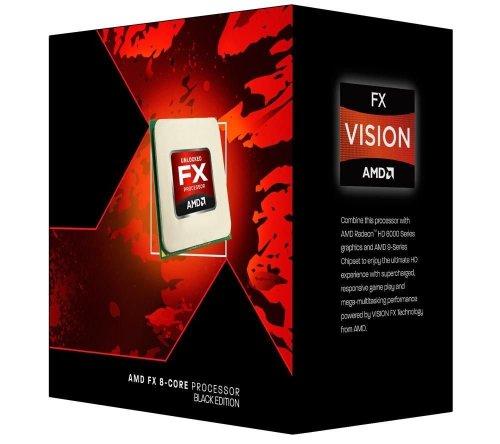 AMD FX 9370 - Processore AMD FX, 4,4 GHz, Socket AM3+, DDR3-SDRAM, Dual 220 W