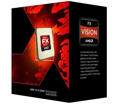 AMD FX 9370 - Procesador (AMD FX, 4,4 GHz, Socket AM3+, DDR3-SDRAM, Dual, 220W)