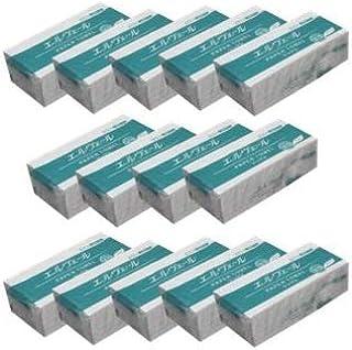 【14袋セット・小判サイズ】エルヴェール ペーパータオル エコドライシングル 小判 703648(200枚×14パック) お手拭き (14)