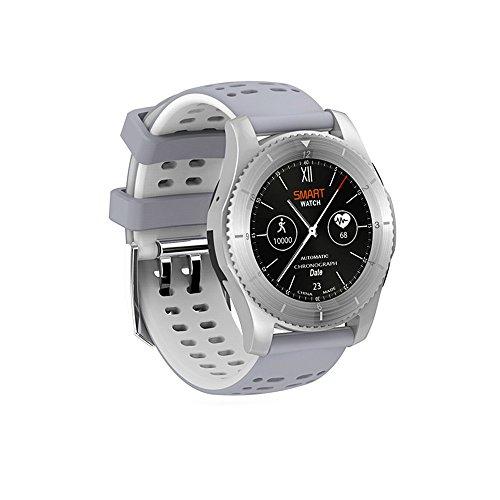 Kariwell GS8 Smart Watch - Display Health Parameters/Heart Rate Monitor/Remote Camera/Remote Music/Sport Bracelet for Men Women Teens Kari-186