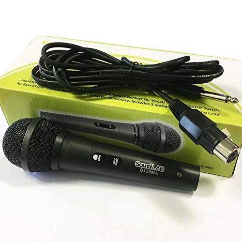 Microfono Switched Dinamico Con Struttura In Metallo E Xlr Jack Piombo 1 Pacchetto / S