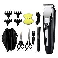 yotijar バリカンシェーバーセットカッタートリマーT字型頭髪カッティングサロン