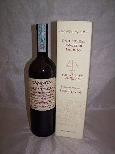 Grappa Nannoni Brunello Sigaro Toscano 1 x l 0,70