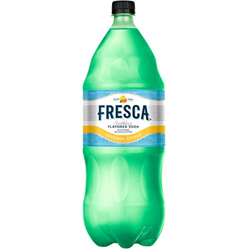 Fresca Original Grapefruit Citrus Soda, Zero Calorie and Sugar Free, 2 Liter Bottle (Packaging may vary)