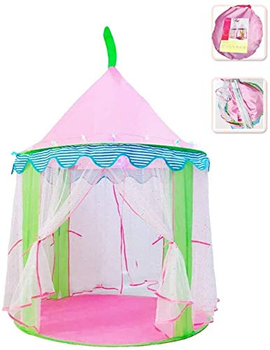 ZZXXB Children's Tent Princess Castle Play House, Breathable Mesh on Both Sides Can Prevent Mosquitoes Used for Children To Sleep, Play And Draw Store Dolls, Toys, Books Judith