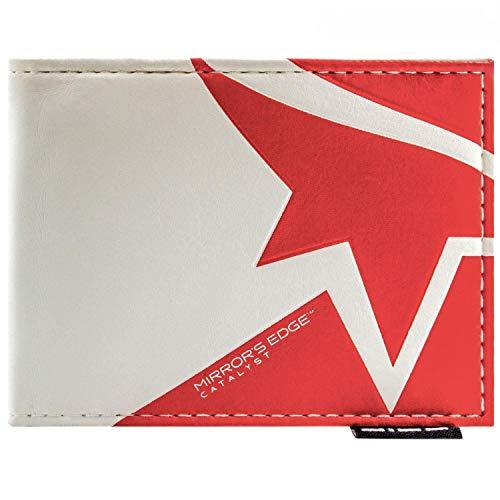Cartera de EA Mirror'S Edge catalizador Logo Blanco