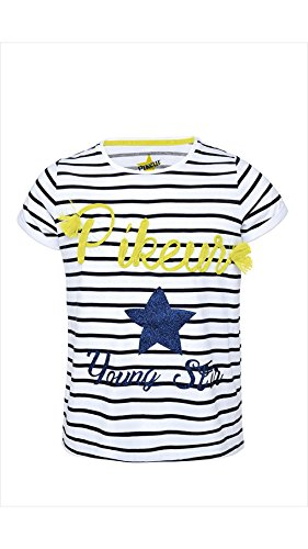 Pikeur Mädchen T-shirt Lisett, 140   weiß