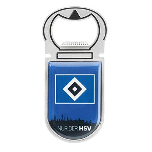 Hamburger SV Flaschenöffner, Öffner Magnet HSV - Plus Lesezeichen I Love Hamburg