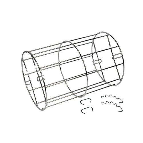Ronco ST412900PRT Standard Rib Basket with Hooks, Stainless steel