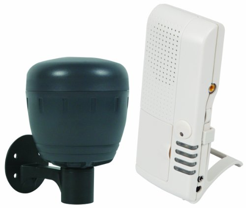 Safety Technology International, Inc.STI-V34150 Wireless Battery Powered Driveway Monitor with Voice Receiver