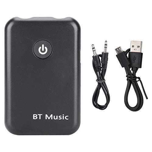 Receptor Bluetooth, Carga ultrarrápida, Adaptador Bluetooth, adopta Chip Bluetooth V4.2, diseño de reducción de Ruido de Alta fidelidad, para Dispositivos de Audio TV