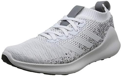 adidas Purebounce+ M, Zapatillas de Deporte para Hombre, Blanco (Ftwbla/Carbon 000), 46 EU