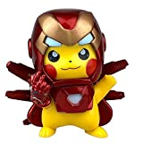 ZHRBO Iron Man 3 Movie Collection: Iron Man Action Figure,Superhero, Thanos Gloves, Steel Pickup,MK85 Children's Gift Collection…