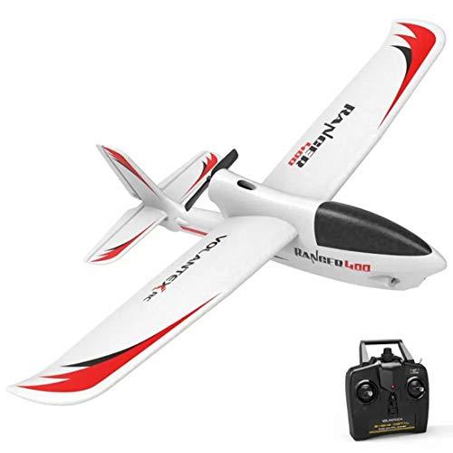 CT-Tribe Segelflugzeug Ferngesteuert (Ranger 400), 2.4Ghz 4CH Flugzeug Starrflügelflugzeug mit Xpilot Gyro System, RC Flugzeugmodell für Anfänger - RTF