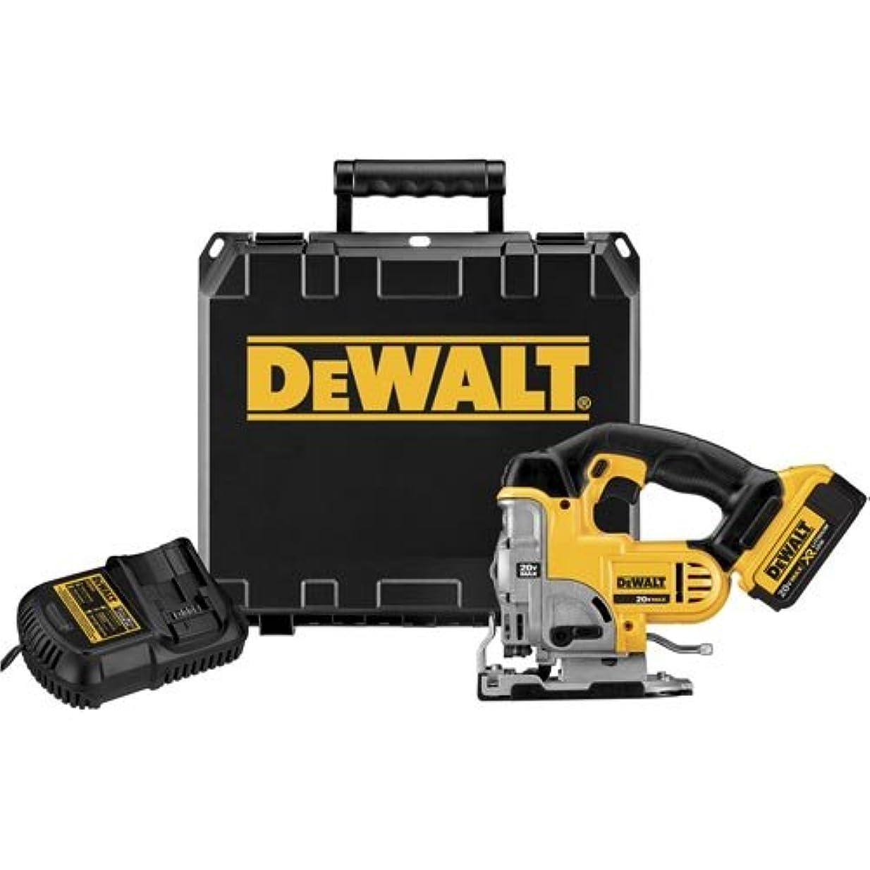 ひそかにと遊ぶ不正直DEWALT DCS331M1 20V Max Lithium Ion Jigsaw Kit by DEWALT [並行輸入品]
